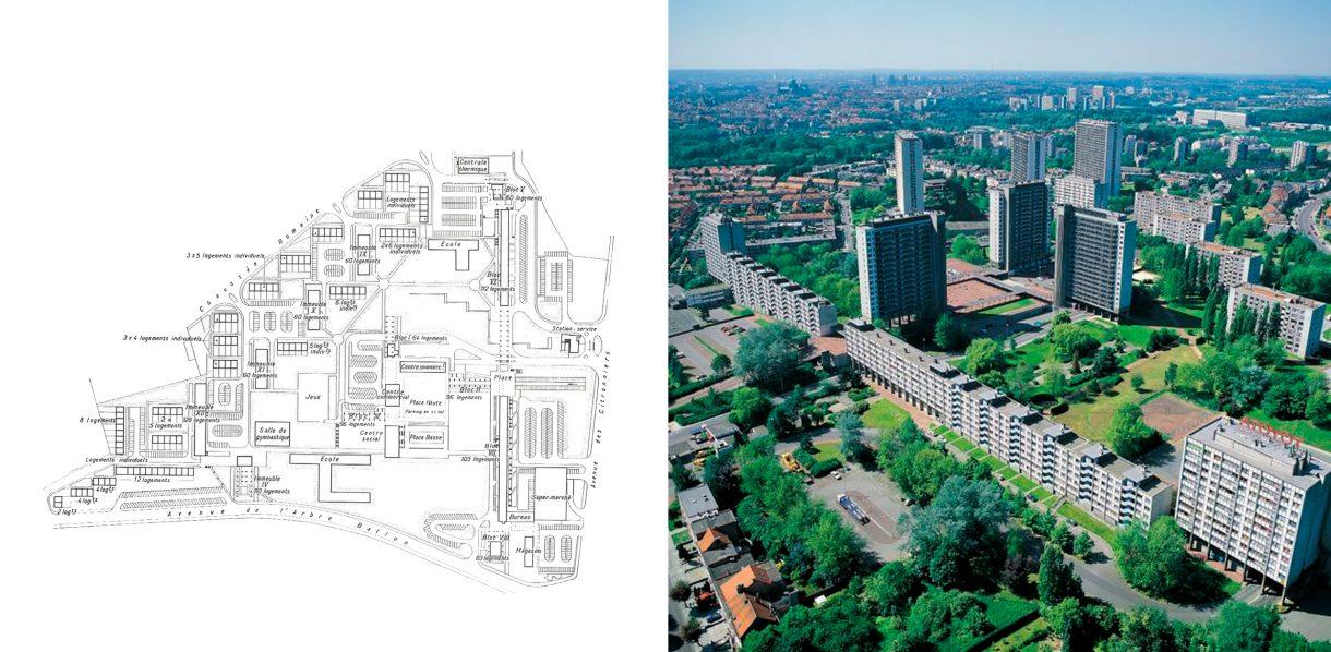 oorspronkelijk masterplan | luchtfoto