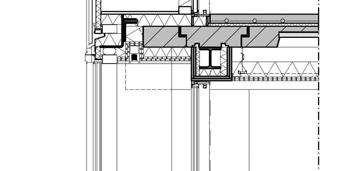 gevelfragment serre A10-zijde (verticaal)