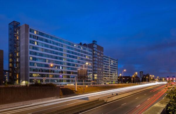"""Woningen """"De Studio"""" / Hotel """"Cityden"""", v.m. GAK gebouw"""