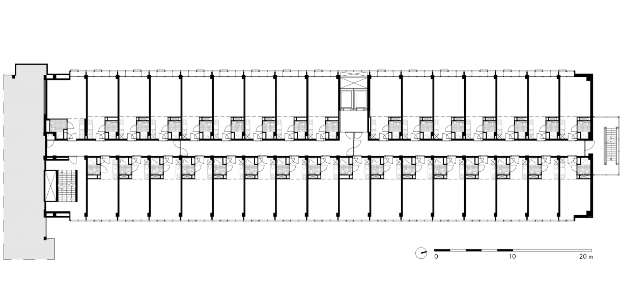 woonverdieping noordvleugel (fase 1)