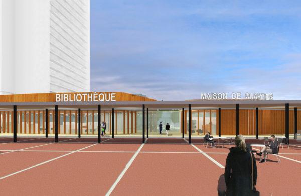 423_01_Modelwijk_bibliotheek_wessel de jonge architecten_buurthuis_situatie_renovatie_nieuwbouw